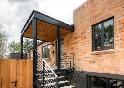 Congress Park Duplex  Modern-small-003-3-Exterior Front Entry-666x445-72dpi