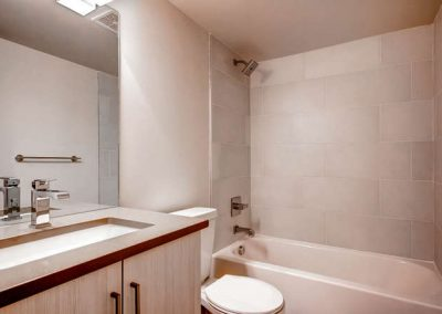 Congress Park Duplex  Modern-small-040-40-Lower Level Bathroom-666x445-72dpi