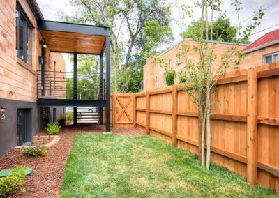 Congress Park Duplex  Modern-small-041-41-Back Yard-666x445-72dpi